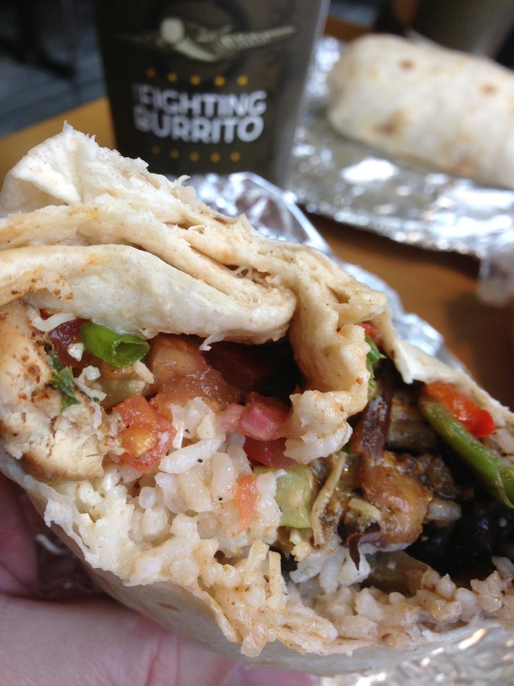 Fighting Burrito