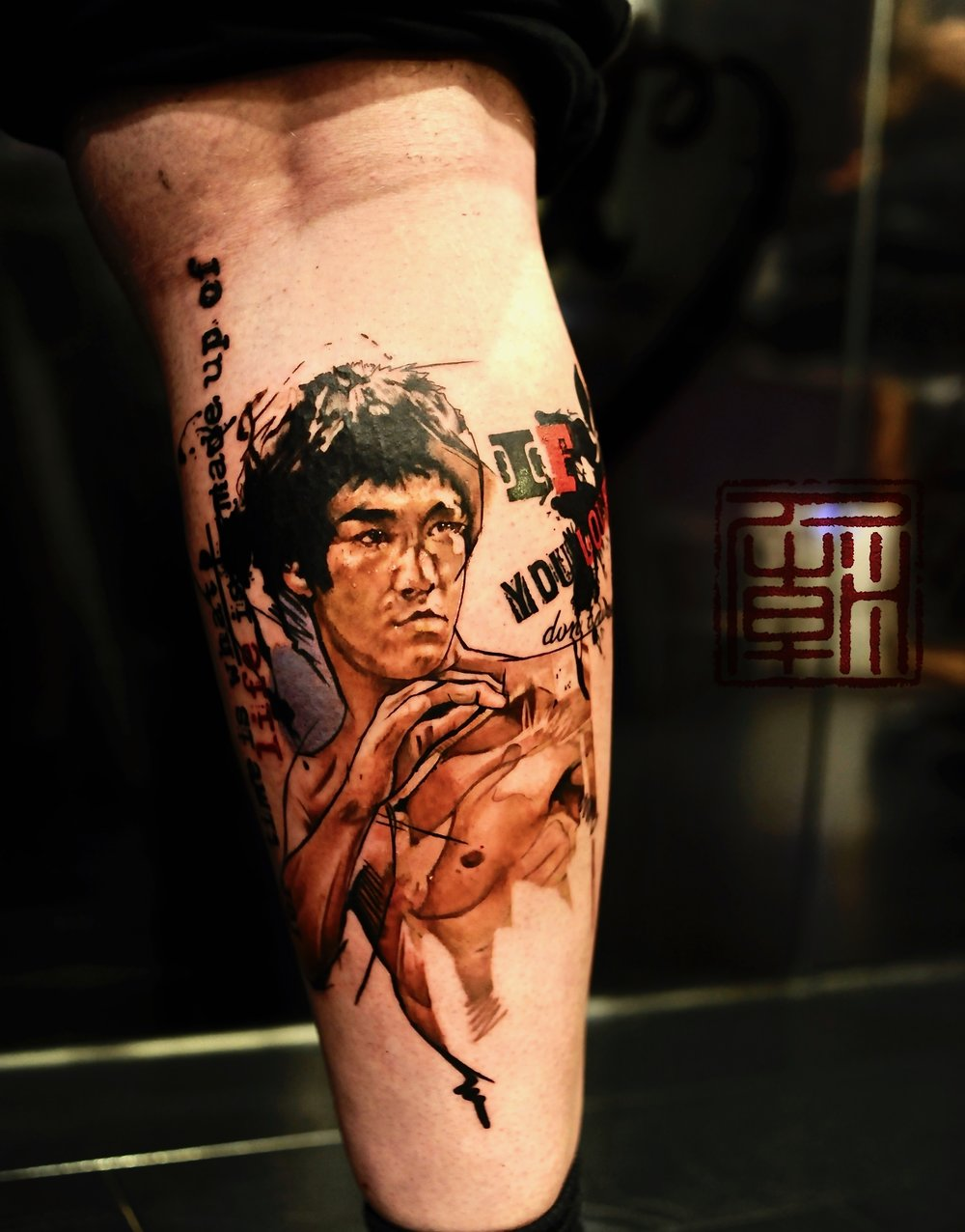 Anttis Bruce Lee Dedication Jamie Wang Tattoo Temple Hong Kong.jpg