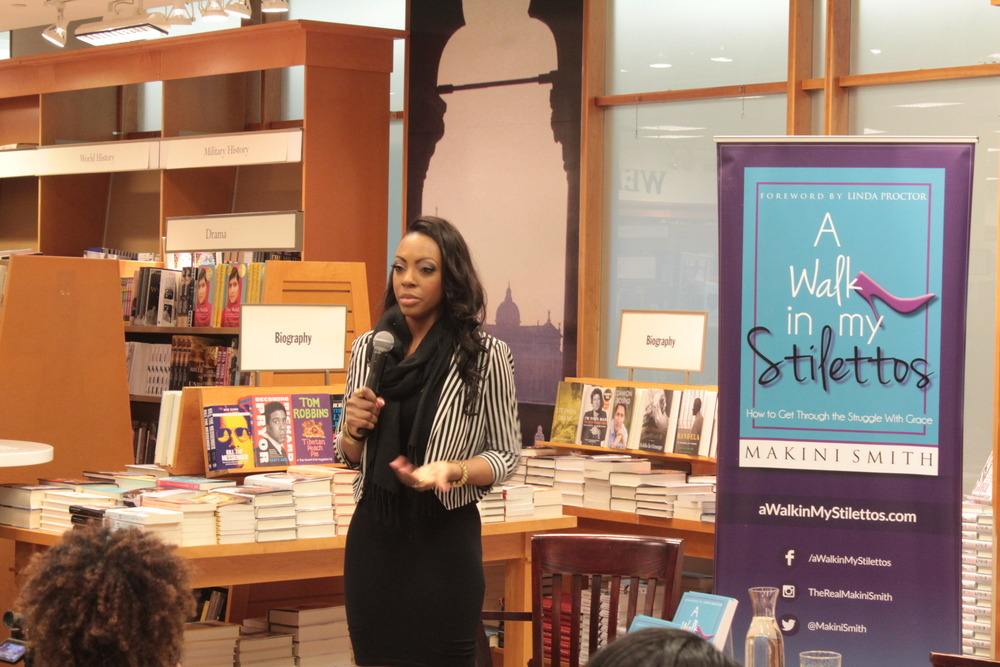 A Walk In My Stilettos Author, Makini Smith, shares her story