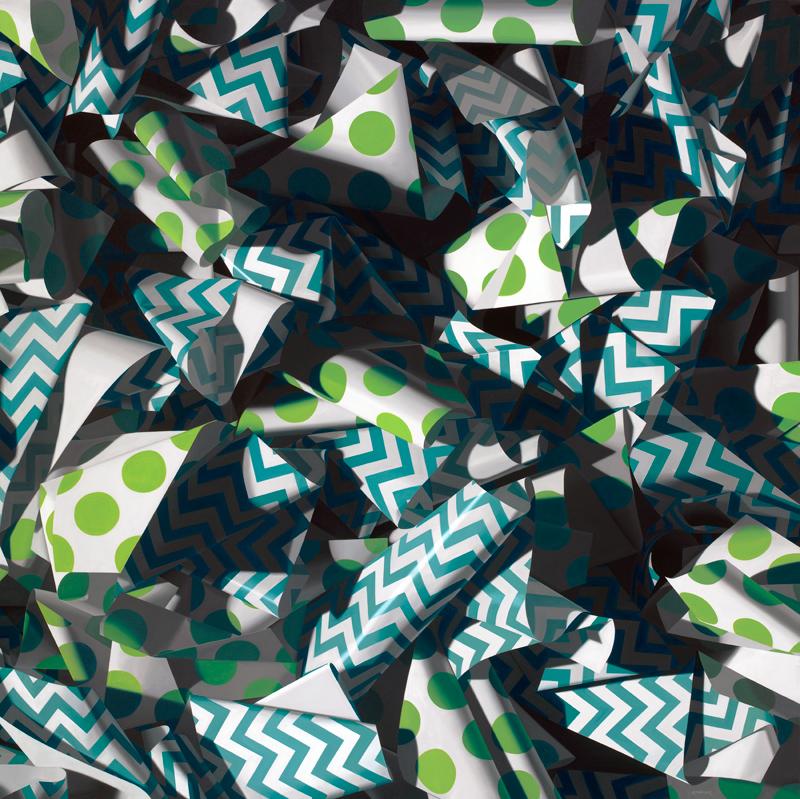 Polka Dotty Miyabi, Oil on Linen, 60 x 60 inches