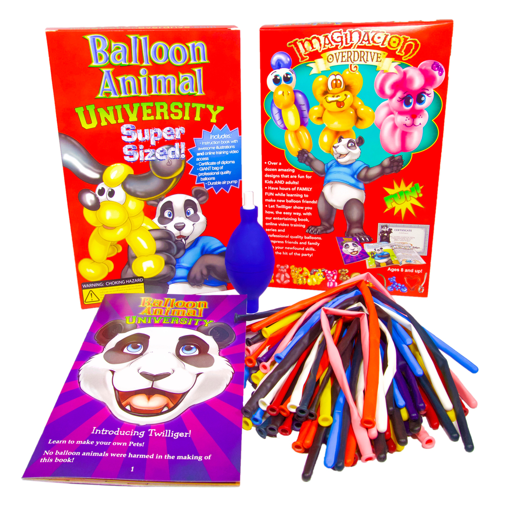 Balloon Animal University Supersized Kit With Qualatex 50 Count