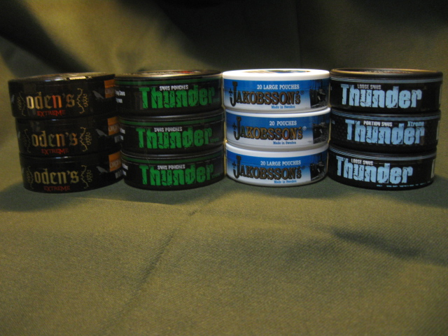 These are all natural blends that are steam cured to provide a smooth, authentic taste.
