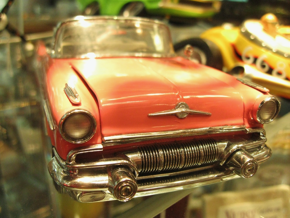 Our line of Franklin Mint die-cast model cars will soon be discontinued, but we still have a few real beauties in! Check out this Pink Caddy!