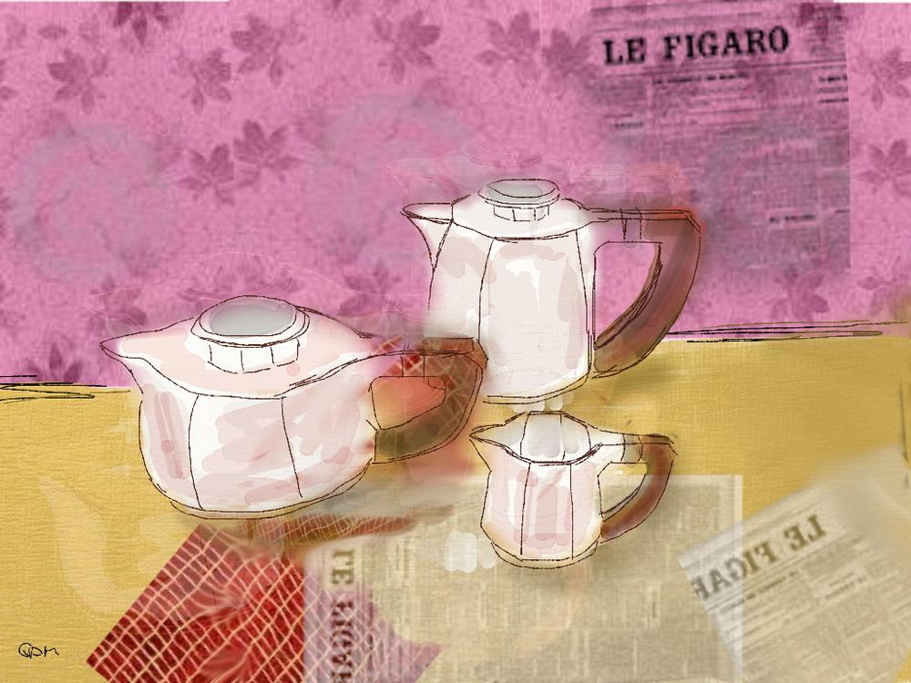 Tea time again.