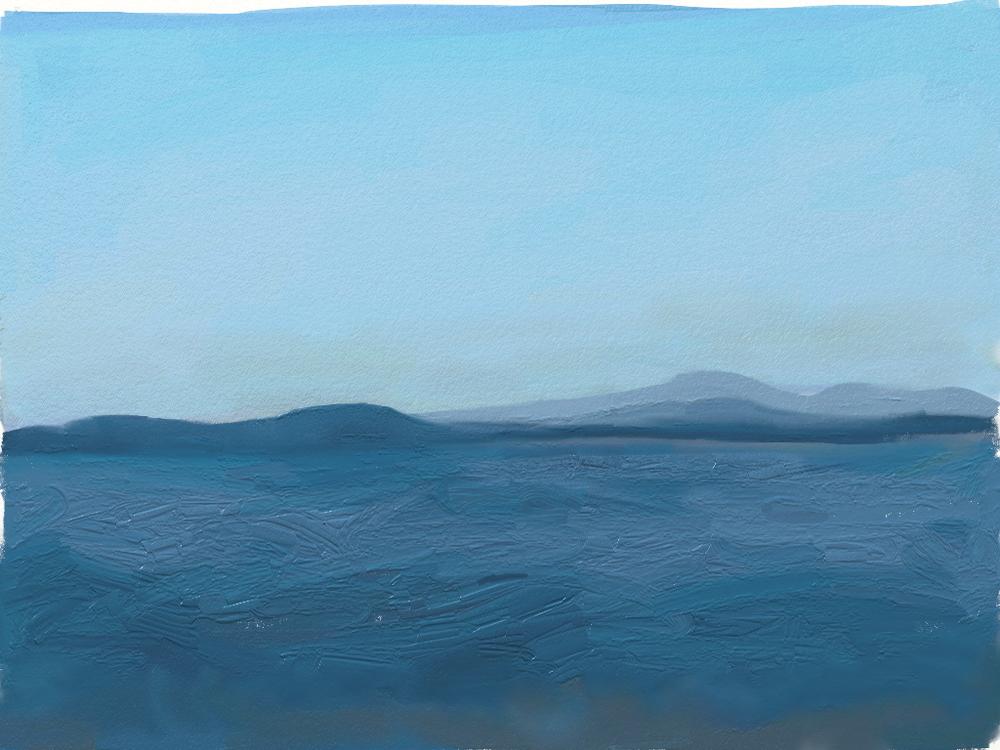 Mar Azul - Blue Sea