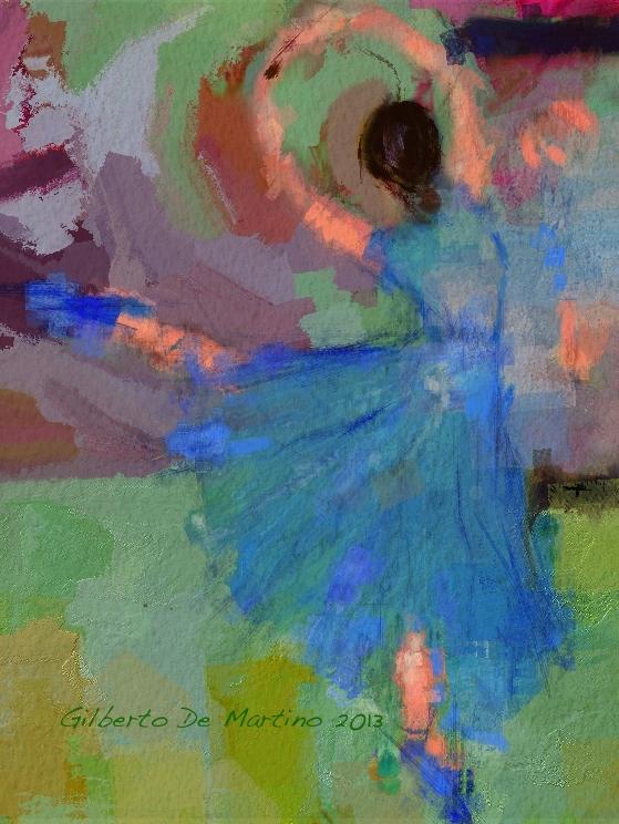 La danseuse et le miroir