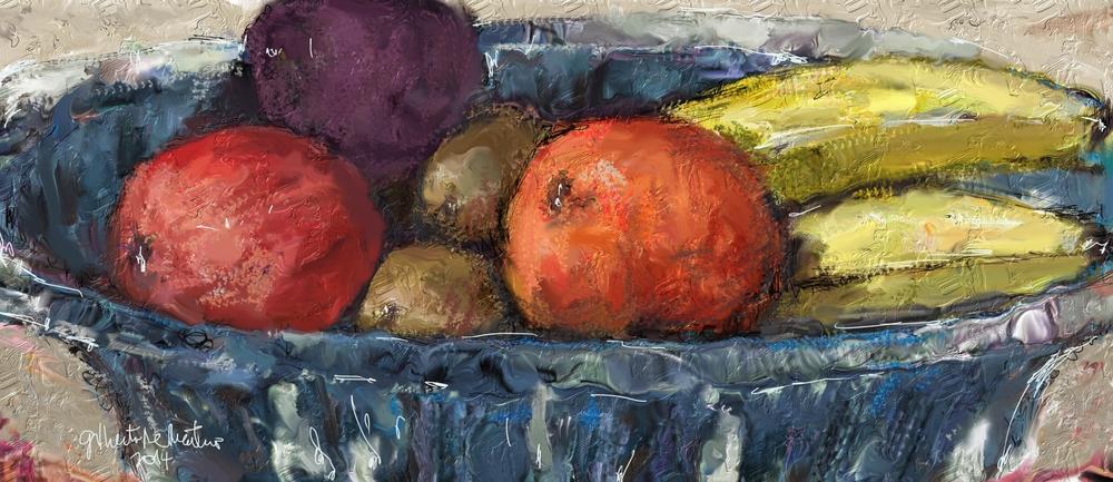 Bachelor's fruit basket