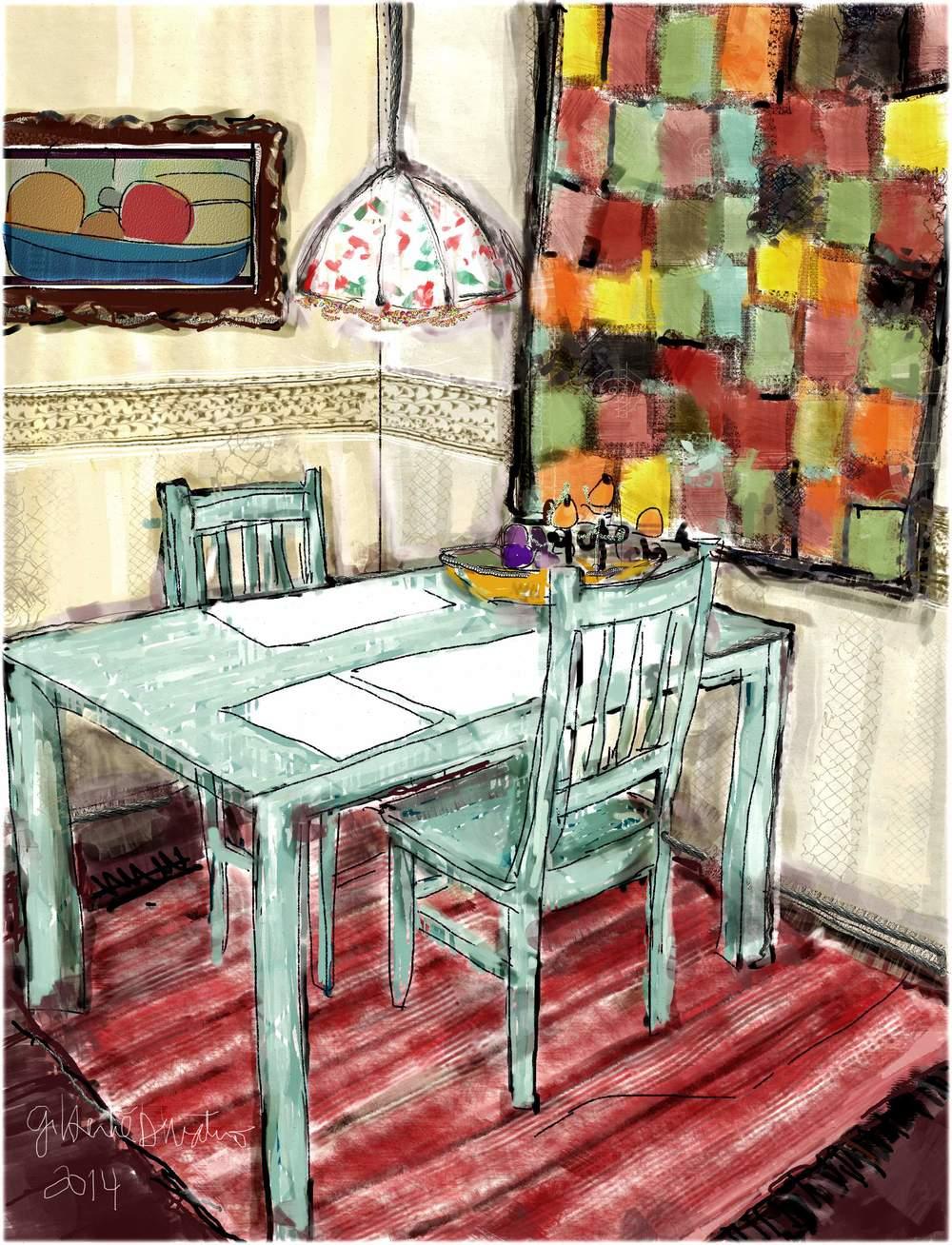 Minha mesa