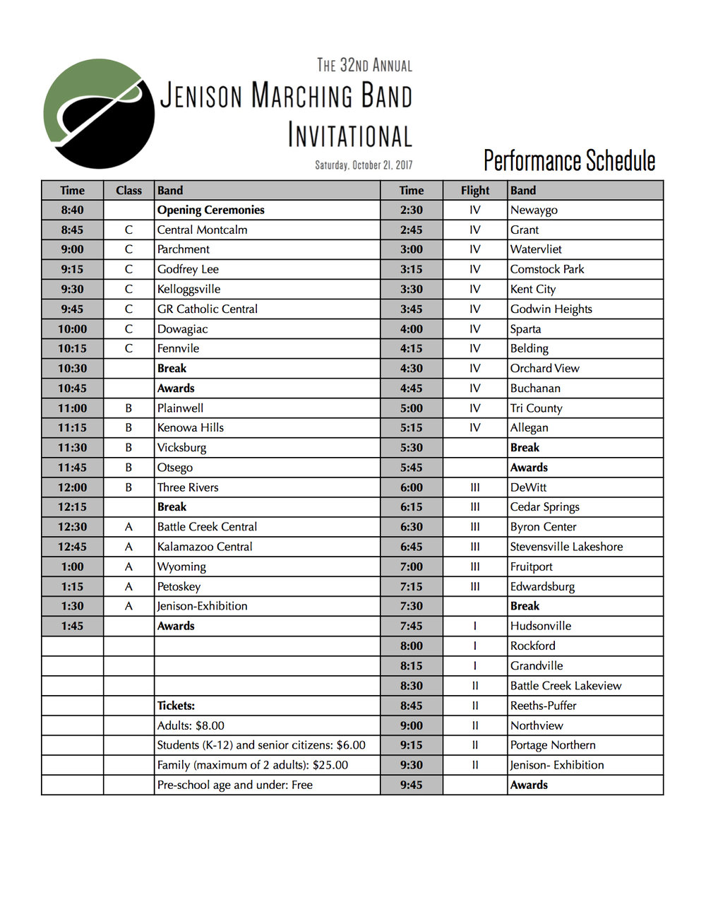 2017 Jenison Invitational Schedule.jpg