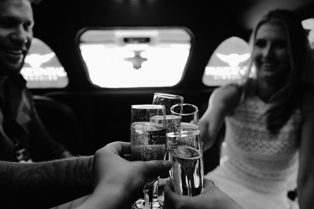 death valley adventure elopement wedding photographer national park limo champagne