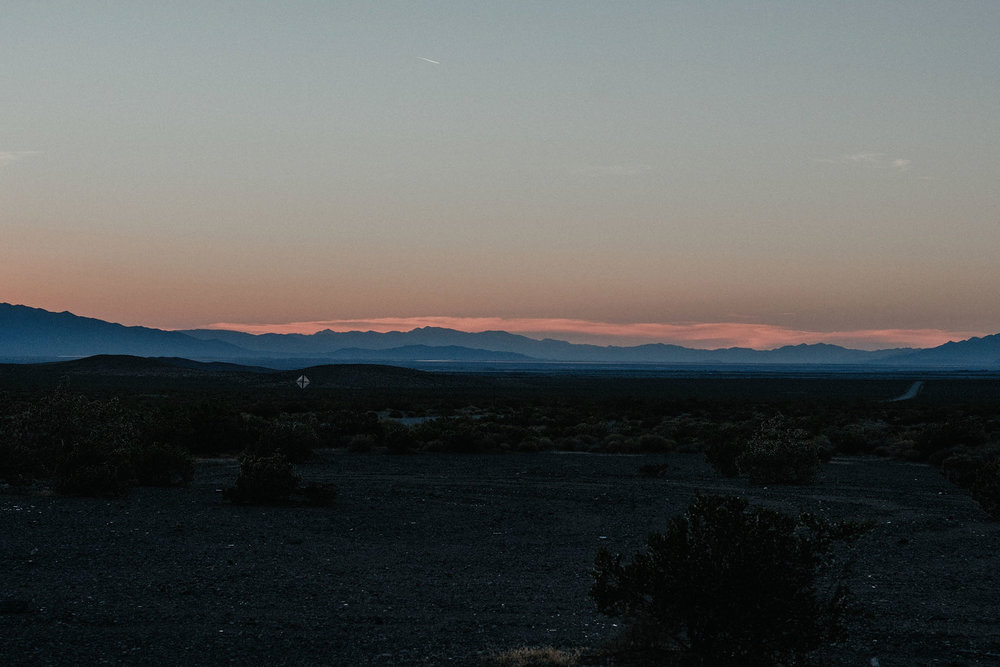 death valley adventure elopement wedding photographer national park sunset photo
