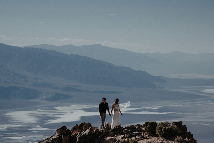 Kate + Matt - Death Valley, California
