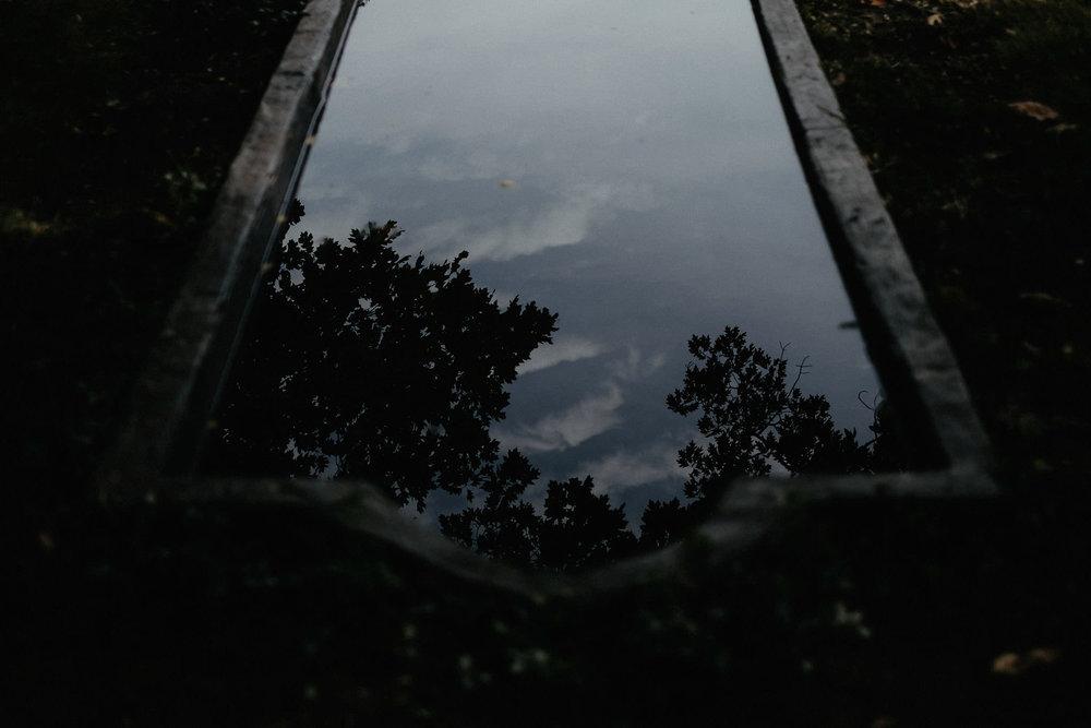 andover new jersey crossed keys estate adventure wedding photographer water reflection