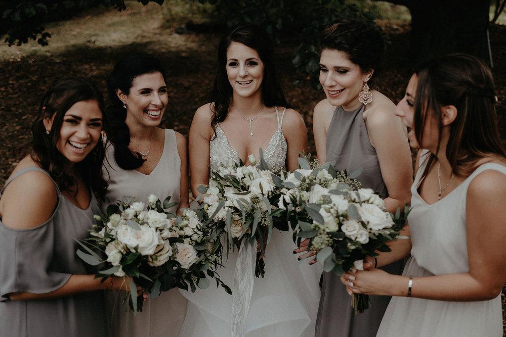 andover new jersey crossed keys estate adventure wedding photographer bridal party