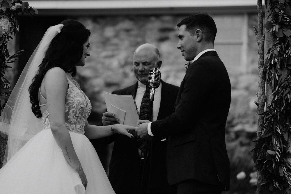 andover new jersey crossed keys estate adventure wedding photographer ceremony rings