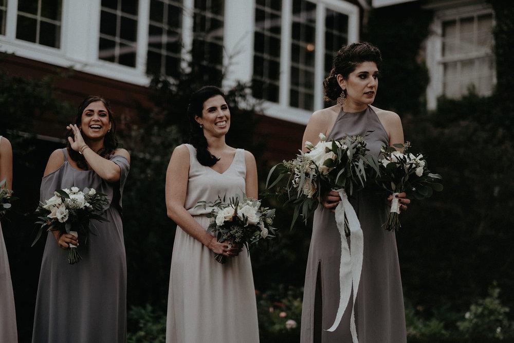 andover new jersey crossed keys estate adventure wedding photographer ceremony bridesmaids
