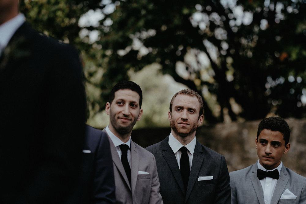 andover new jersey crossed keys estate adventure wedding photographer ceremony groomsmen