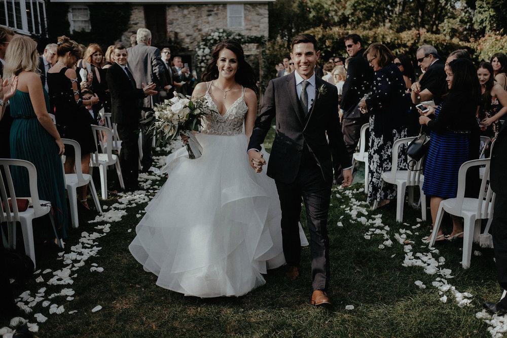andover new jersey crossed keys estate adventure wedding photographer ceremony bride groom recession