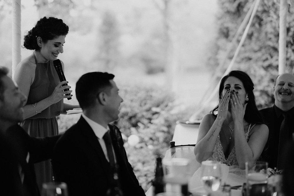 andover new jersey crossed keys estate adventure wedding photographer reception maid of honor speech