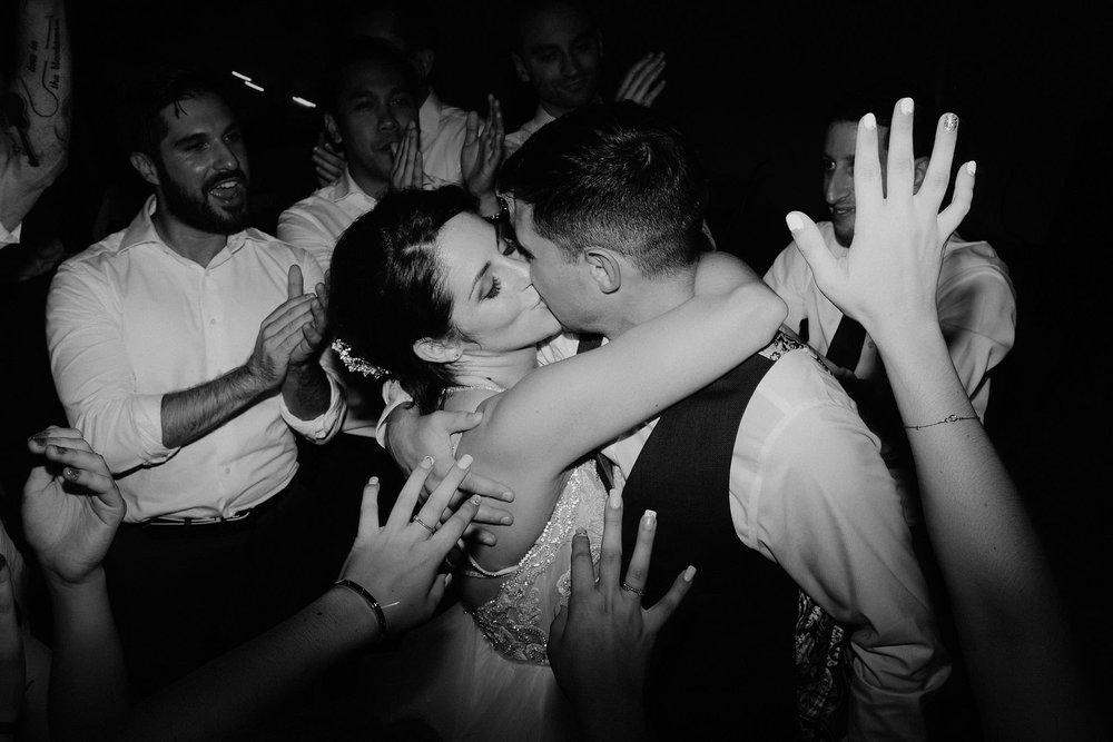 andover new jersey crossed keys estate adventure wedding photographer reception dancing bride groom kissing