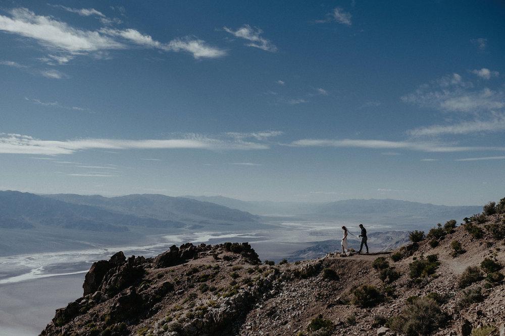 Kate + Matt - Death Valley Elopement