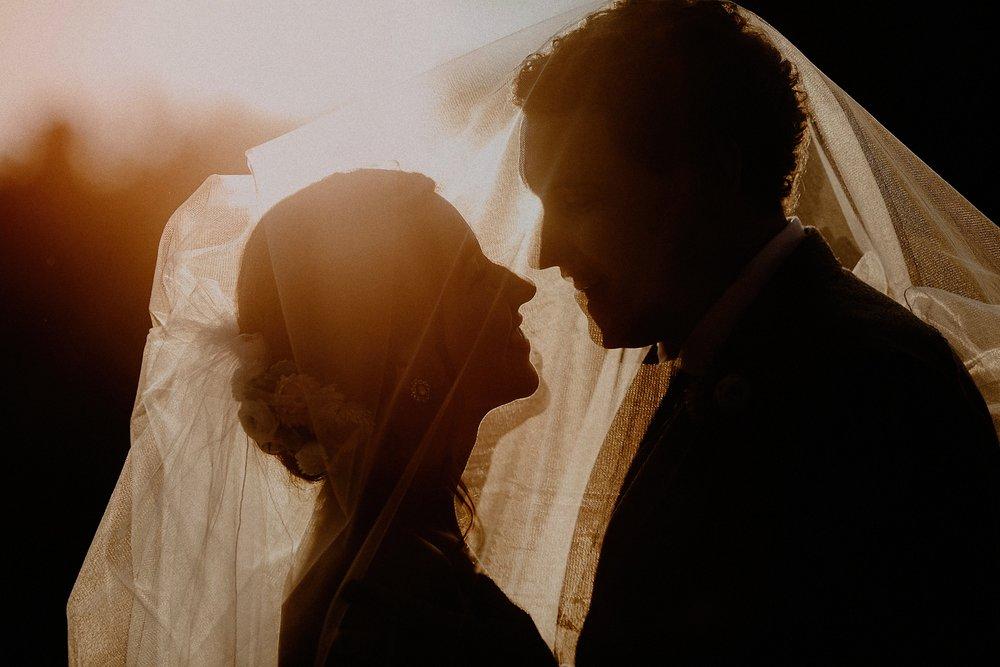 intimate wedding adventure elopement sunset photo couple vermont