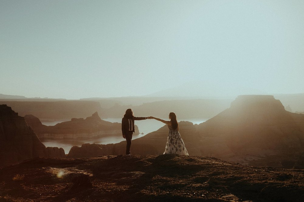Jacob & Lala - Lake Powell, AZ Adventure elopement