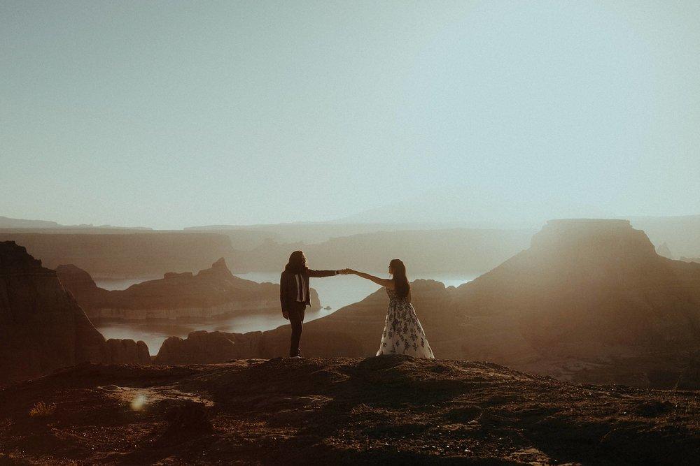 Jacob & Lala - Lake Powell, AZ Adventure elopement