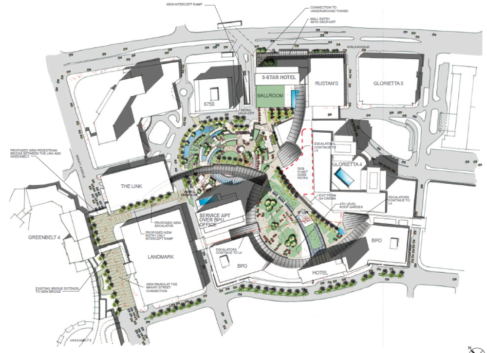 Glorietta Master Plan And Concept Design John Gish