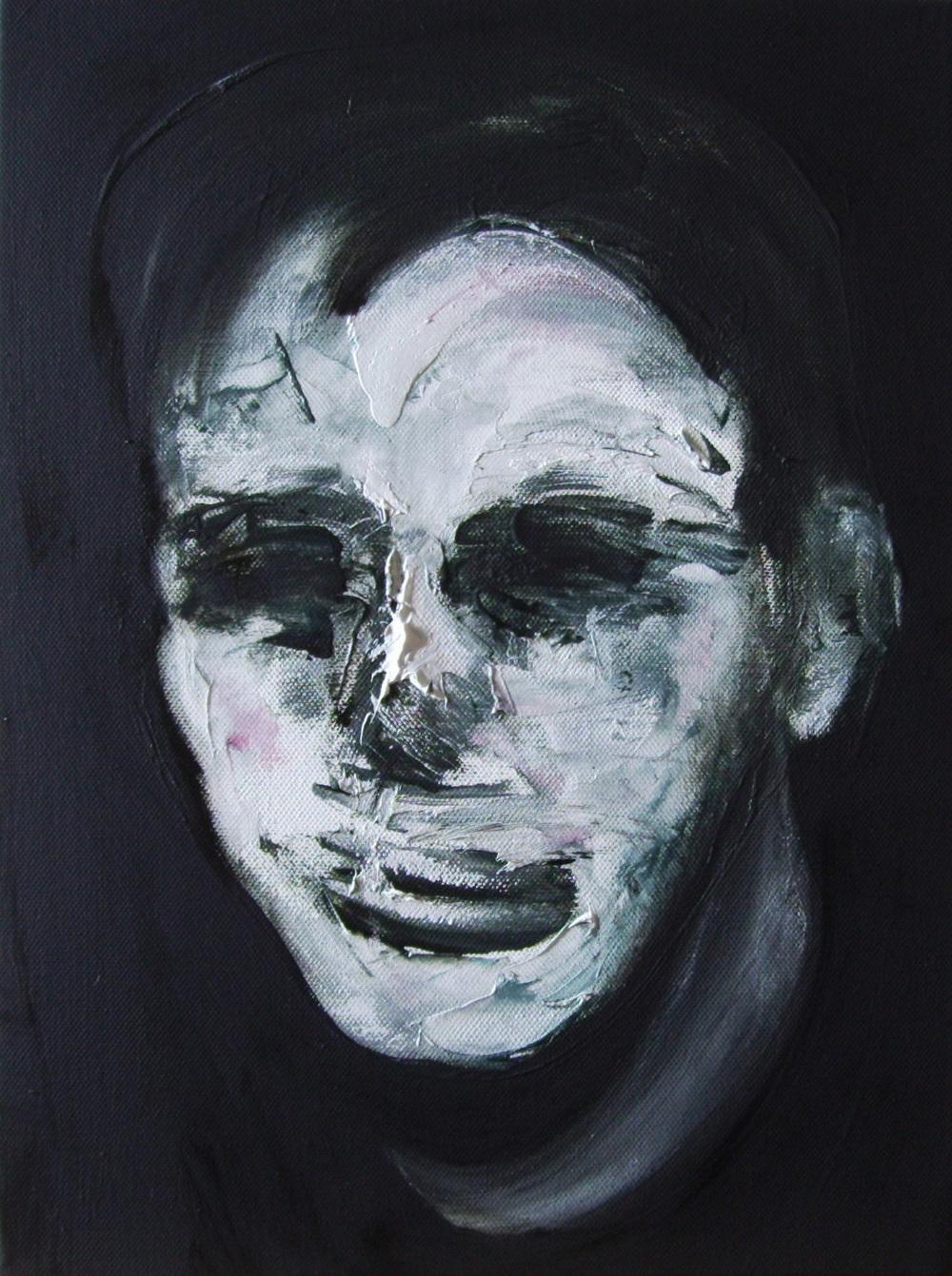 Lorenzo Puglisi   Ritratto CXIV  (2011) olio su tela  40 x 30 cm