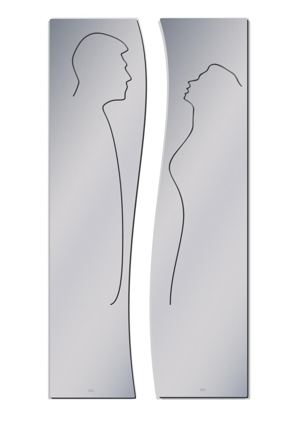 Daniele Basso La dolce vita (2011) acciaio inox