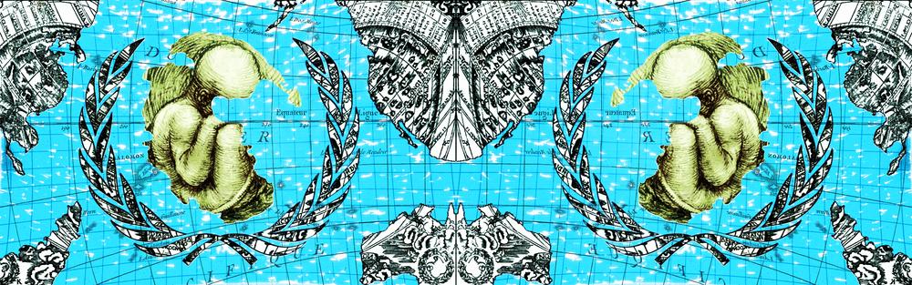 Loris Bellan  U.N.O.  stampa digitale 62 x 22 cm Edizione di 20