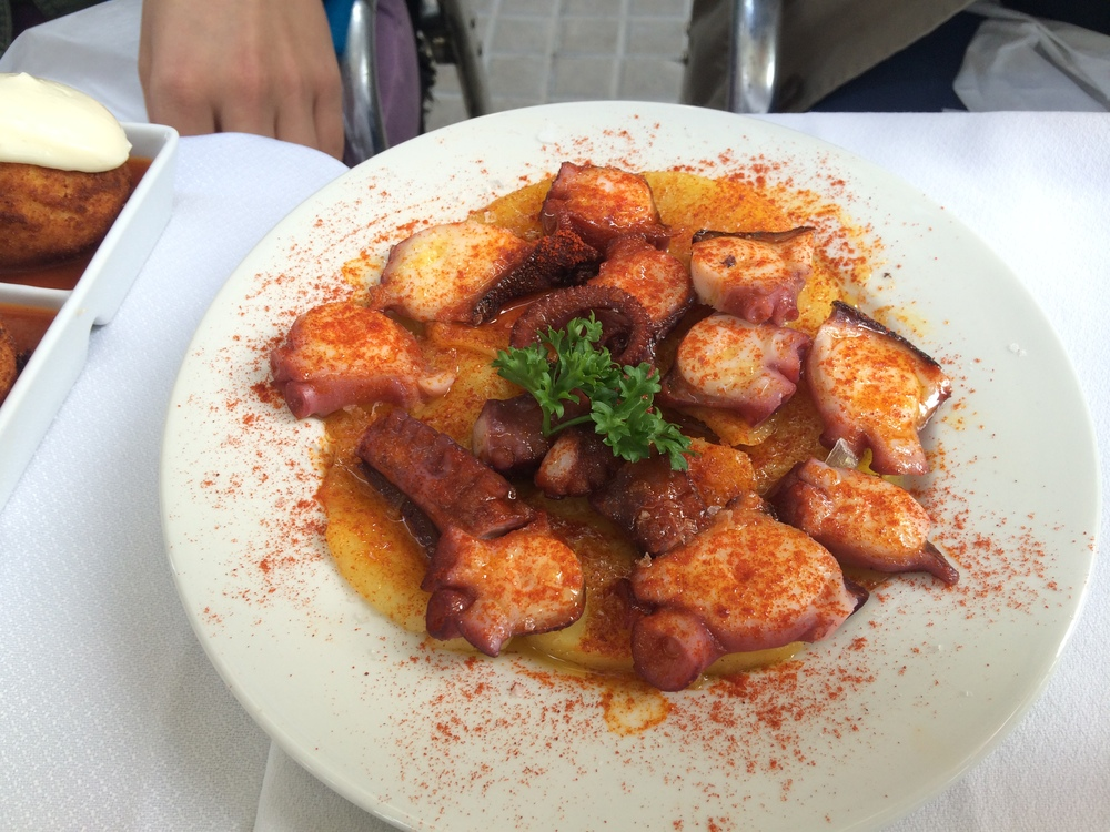 Octopus in Barcelona.