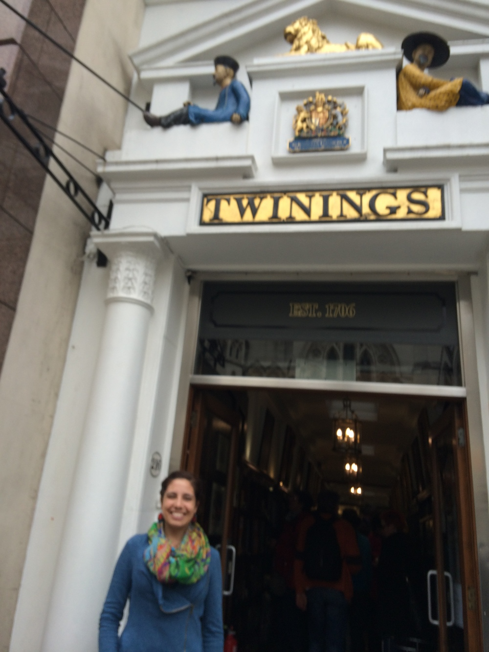 Outside Twinings!