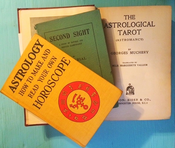 My splurges: first edition occult texts circa 1920s from the Argosy.