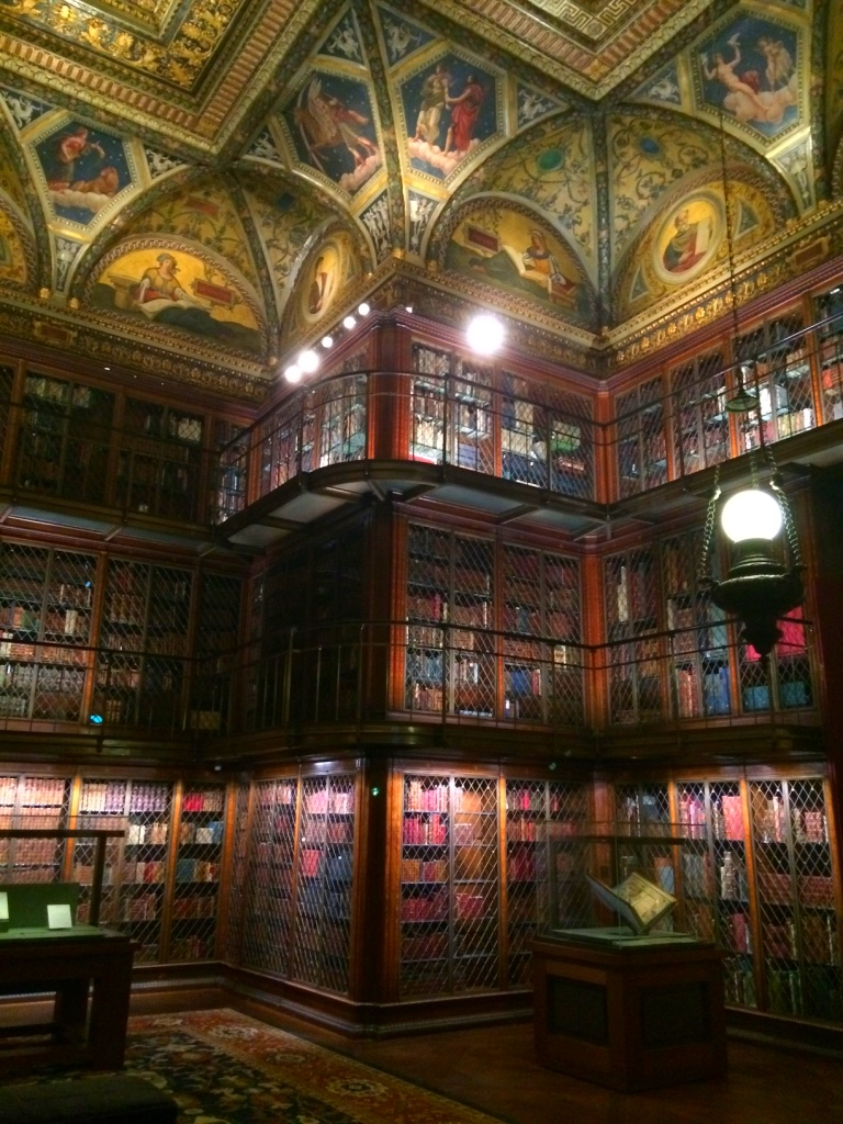 The Morgan Library...I could live here!