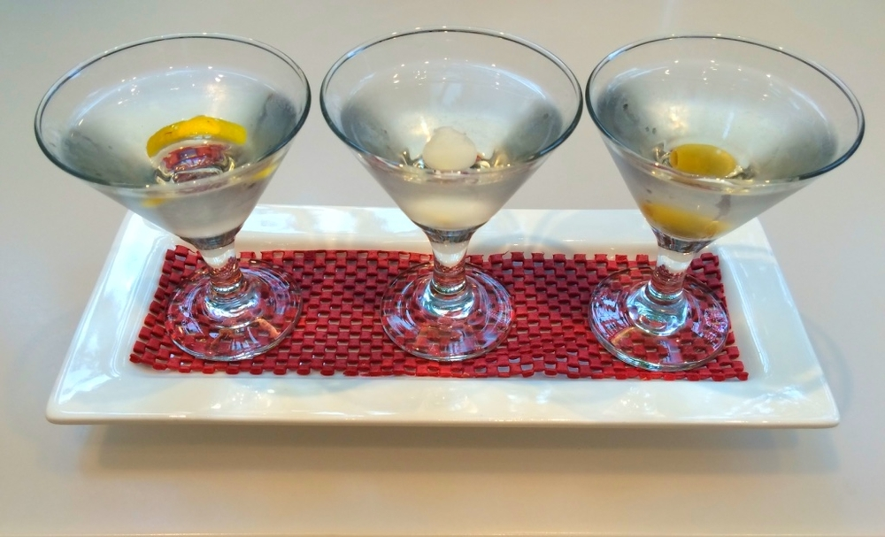 Hemingway's three martini lunch.