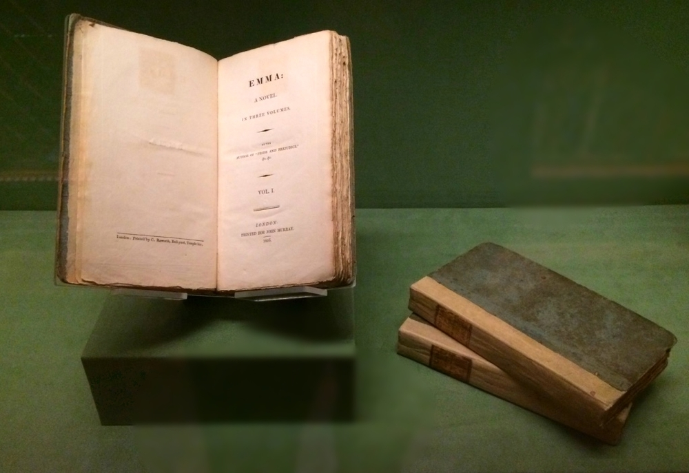 First edition of Jane Austen's  Emma  (1816).