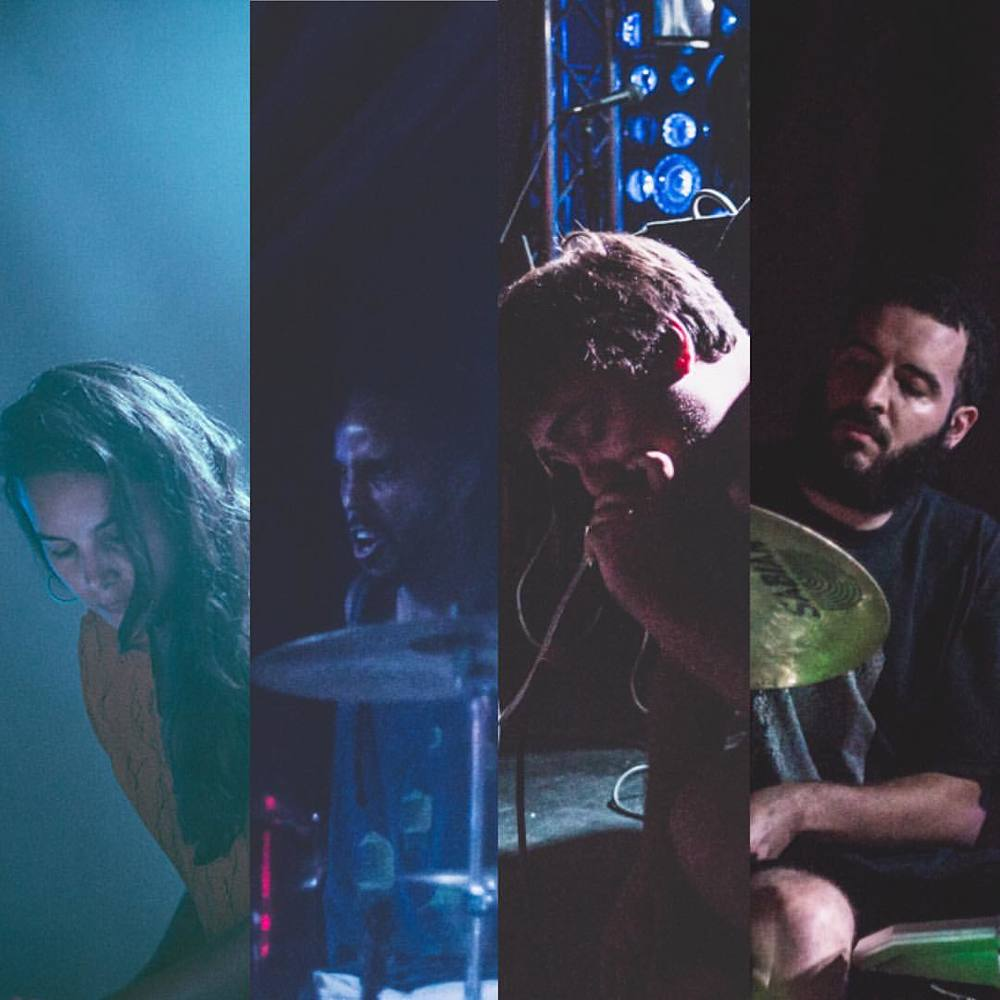 full band show for Talk Magazine's takeover of PS1 ALLGOLD (September 17, 2015)