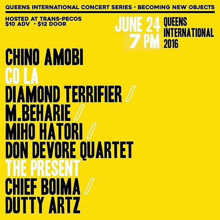 improv quartet show for Queen biennial