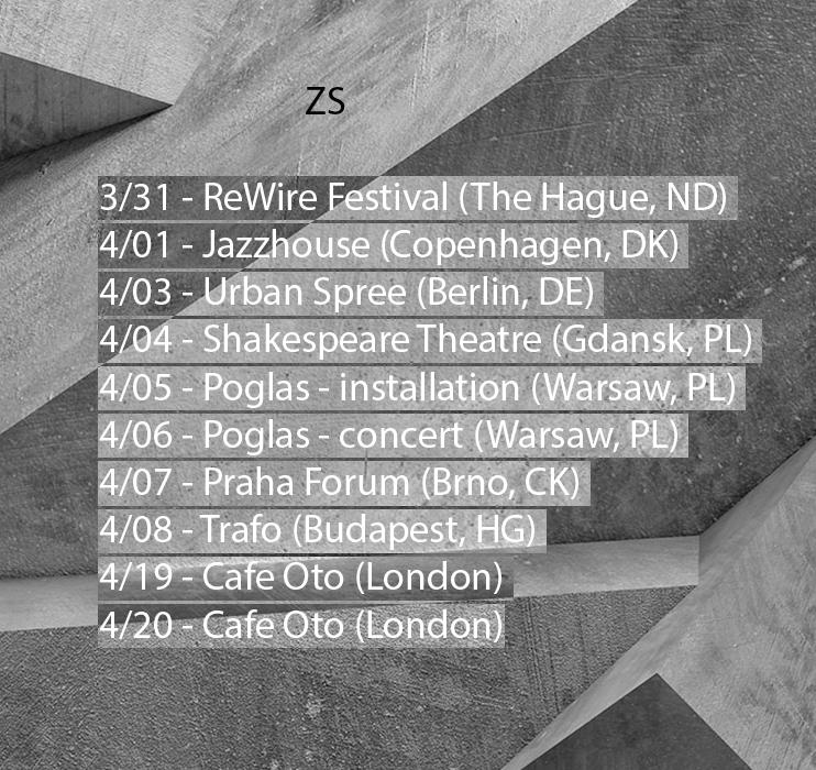 ZS Spring 2017 tour