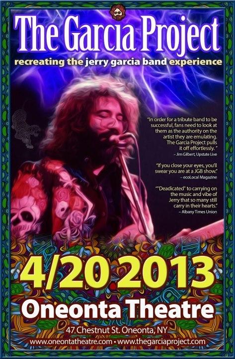 4-20, 2013 - Oneonta Theatre - Oneonta, NY