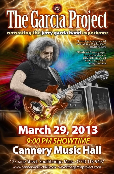 March 29, 2013 -The Cannery Music Hall - Southbridge, MA
