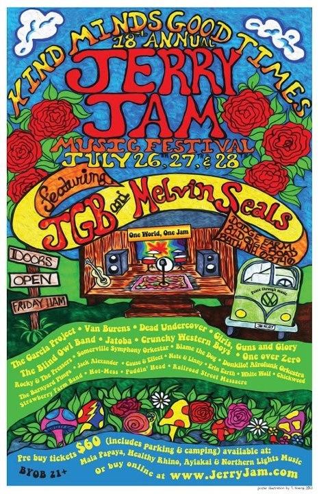 18th annual Jerry Jam - Bath, NH