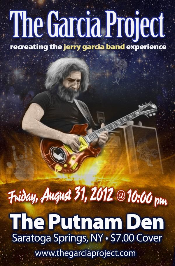 August 31, 2012 - The Putnam Den - Saratoga Springs, NY