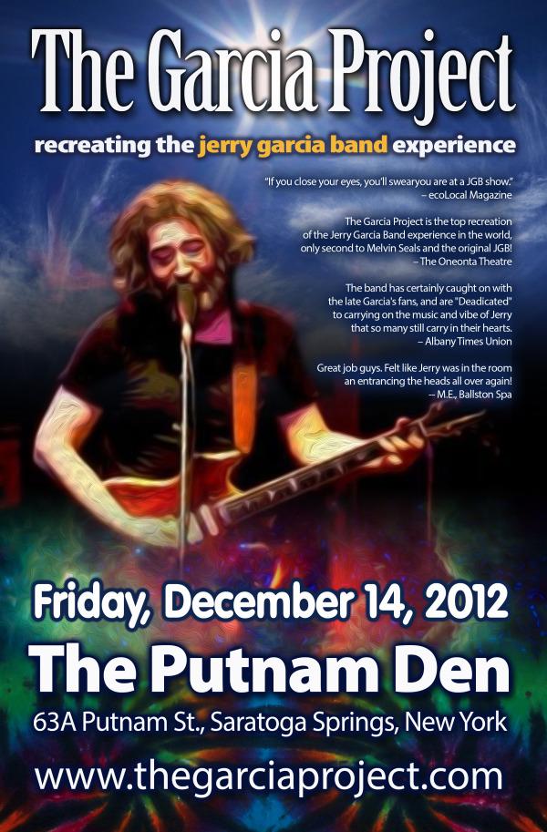 Friday, December 14, 2012 - The Putnam Den - Saratoga Springs, NY