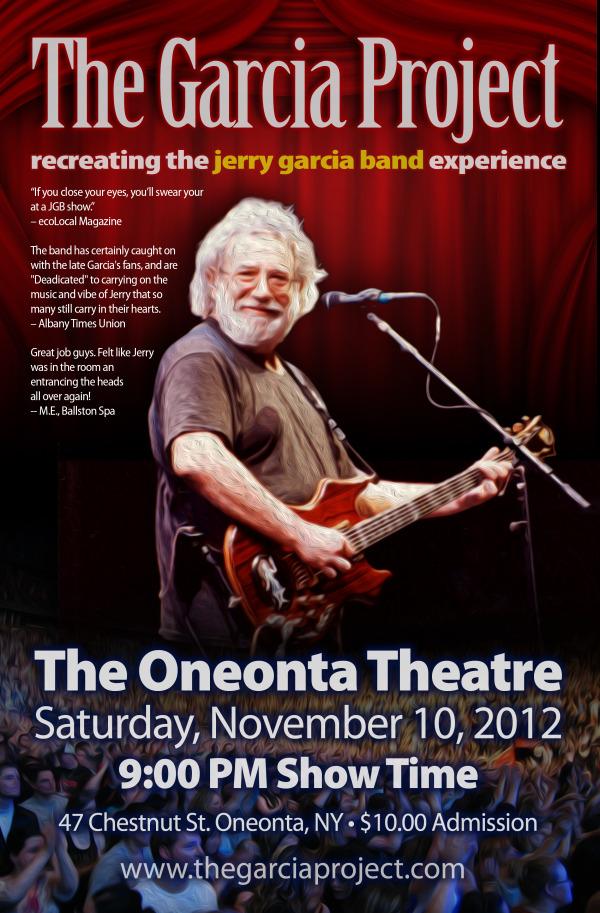 November 10, 2012 - Oneonta Theatre - Oneonta, NY
