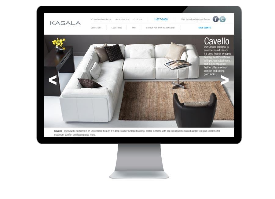 Website design and development  sc 1 st  designheavy : kasala sectional - Sectionals, Sofas & Couches