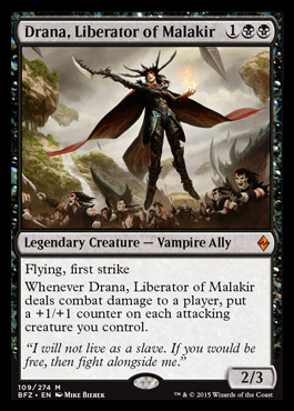 Drana, Liberator of Malaria