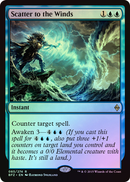 Scatter to the Winds (FOIL)